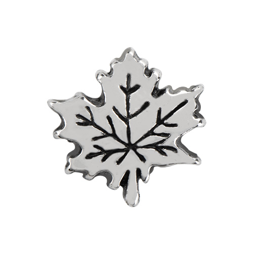 CH4129 Silver Maple Leaf Charm 2 as Smart Object 1 copy
